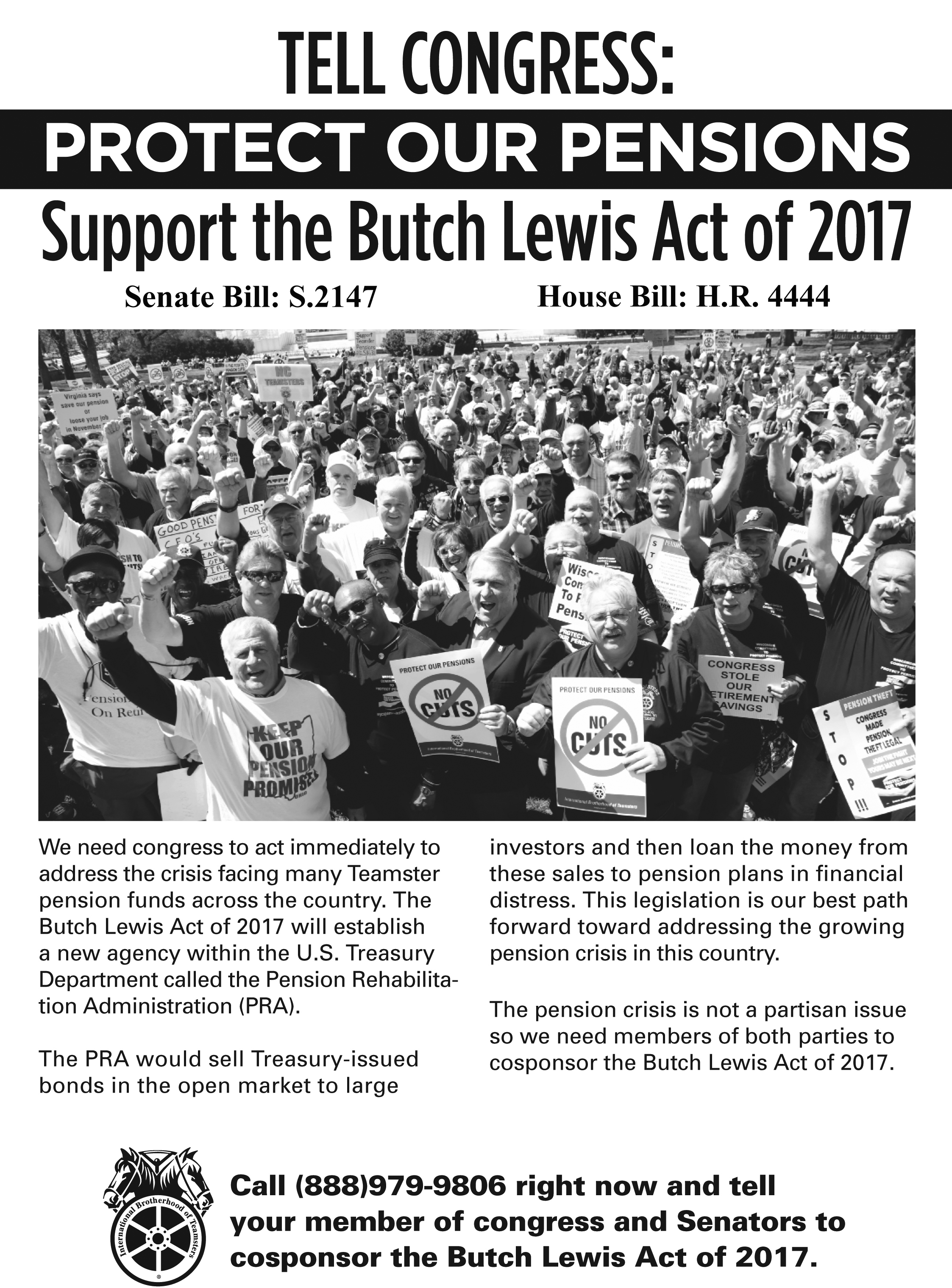The Butch Lewis Act of 2017